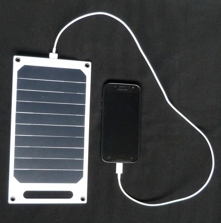 zonnepaneel 10 watt usb